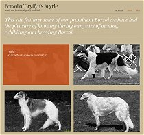 Texas Borzoi - featuring the prominent Borzoi of Gryffyn's Aeyrie